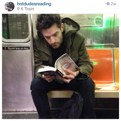 acupuncture hot dudes reading